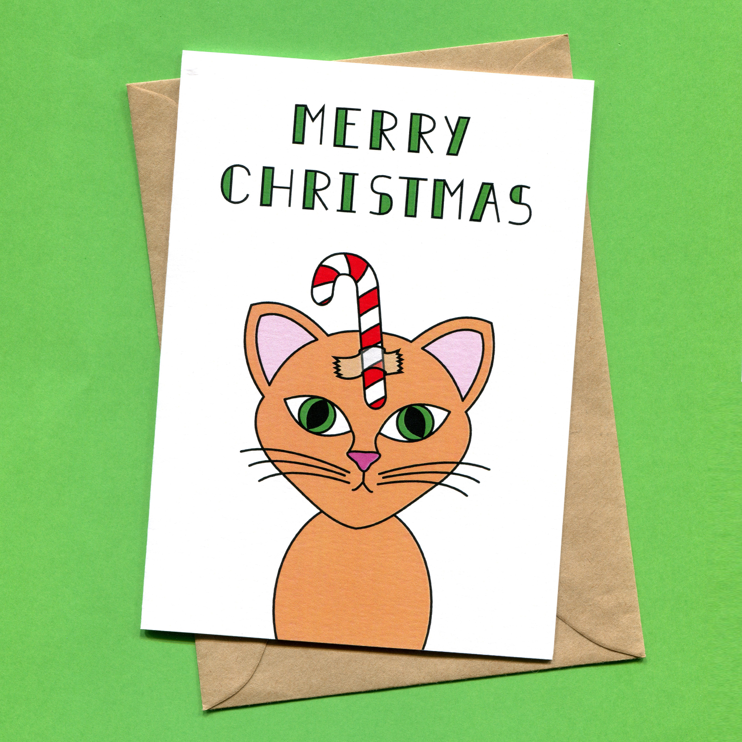 Catalogue_Things by Bean Christmas Cat Funny Cat Christmas Card.jpg