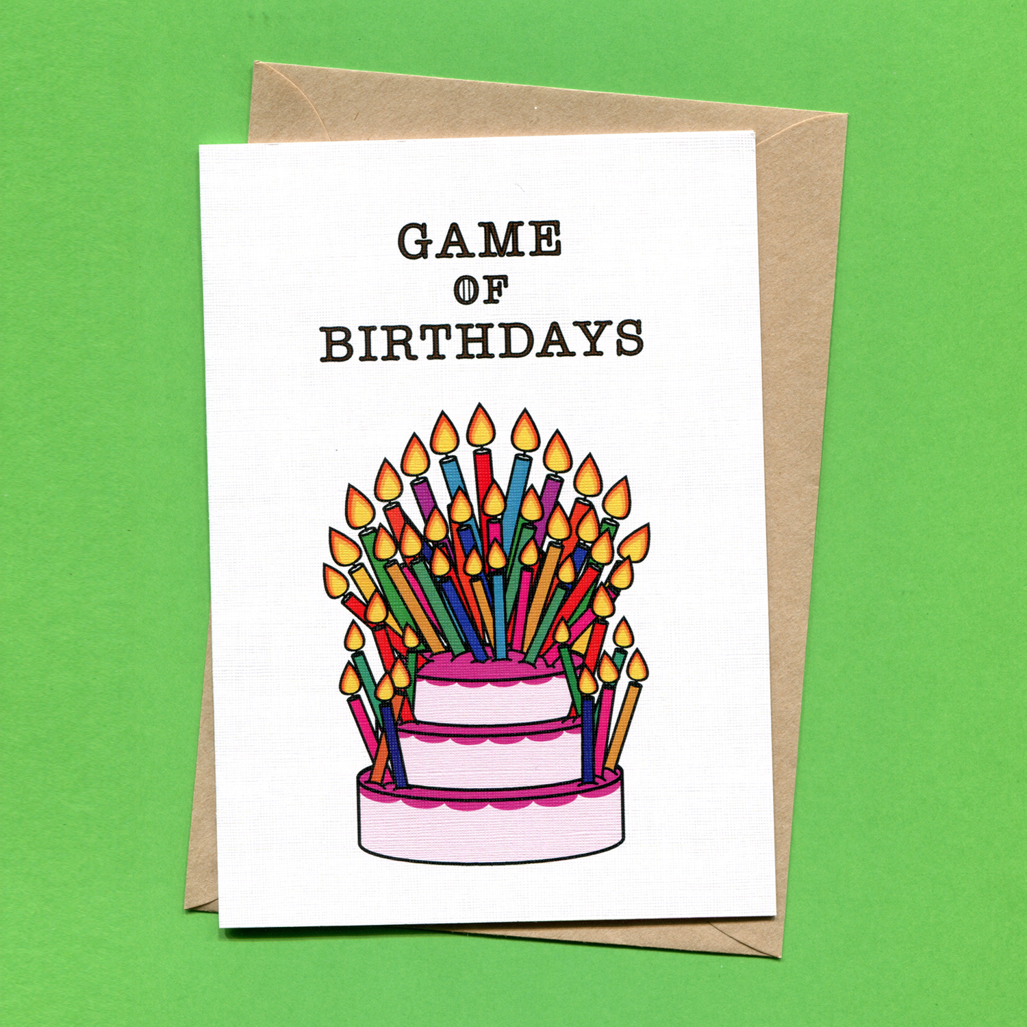 Catalogue_Things by Bean Game of Birthdays Greeting Card.jpg