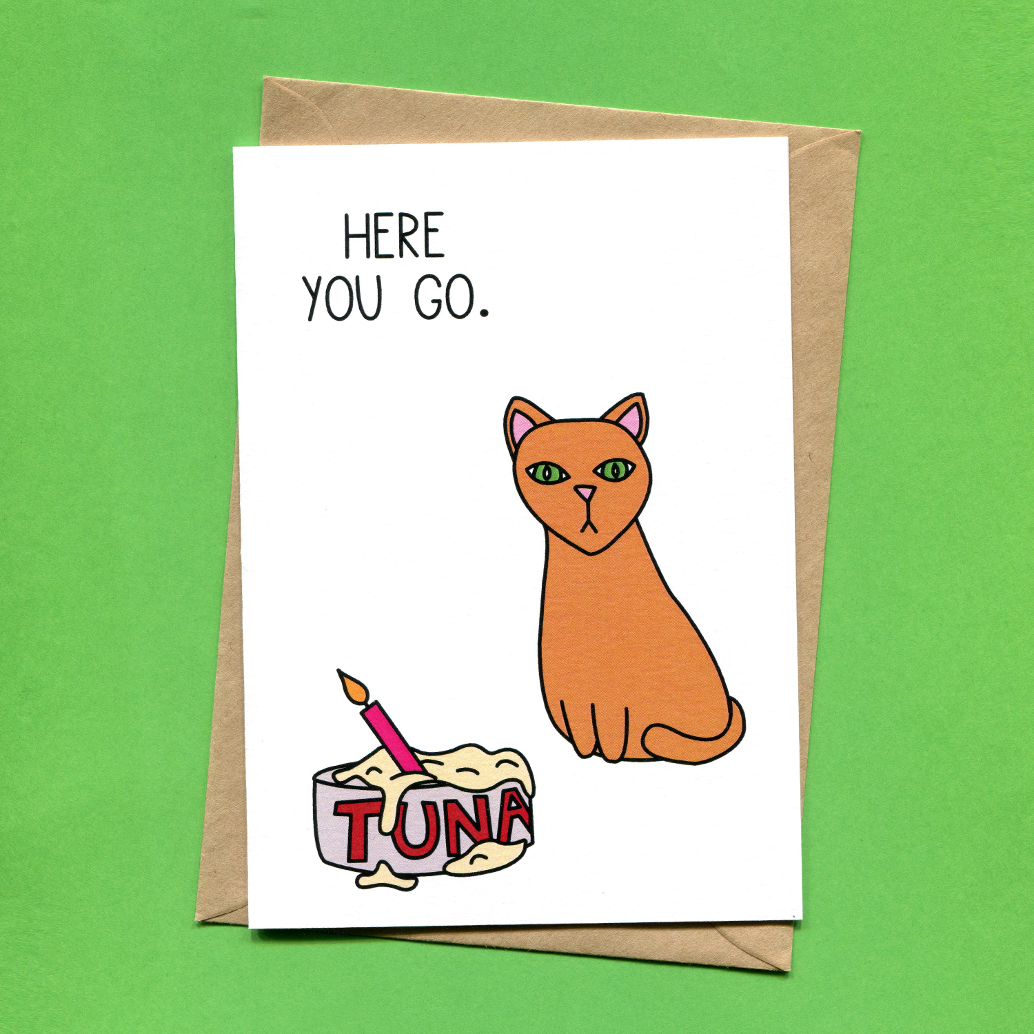 Catalogue_Things by Bean Here You Go Tuna Cake Cat Birthday Card.jpg