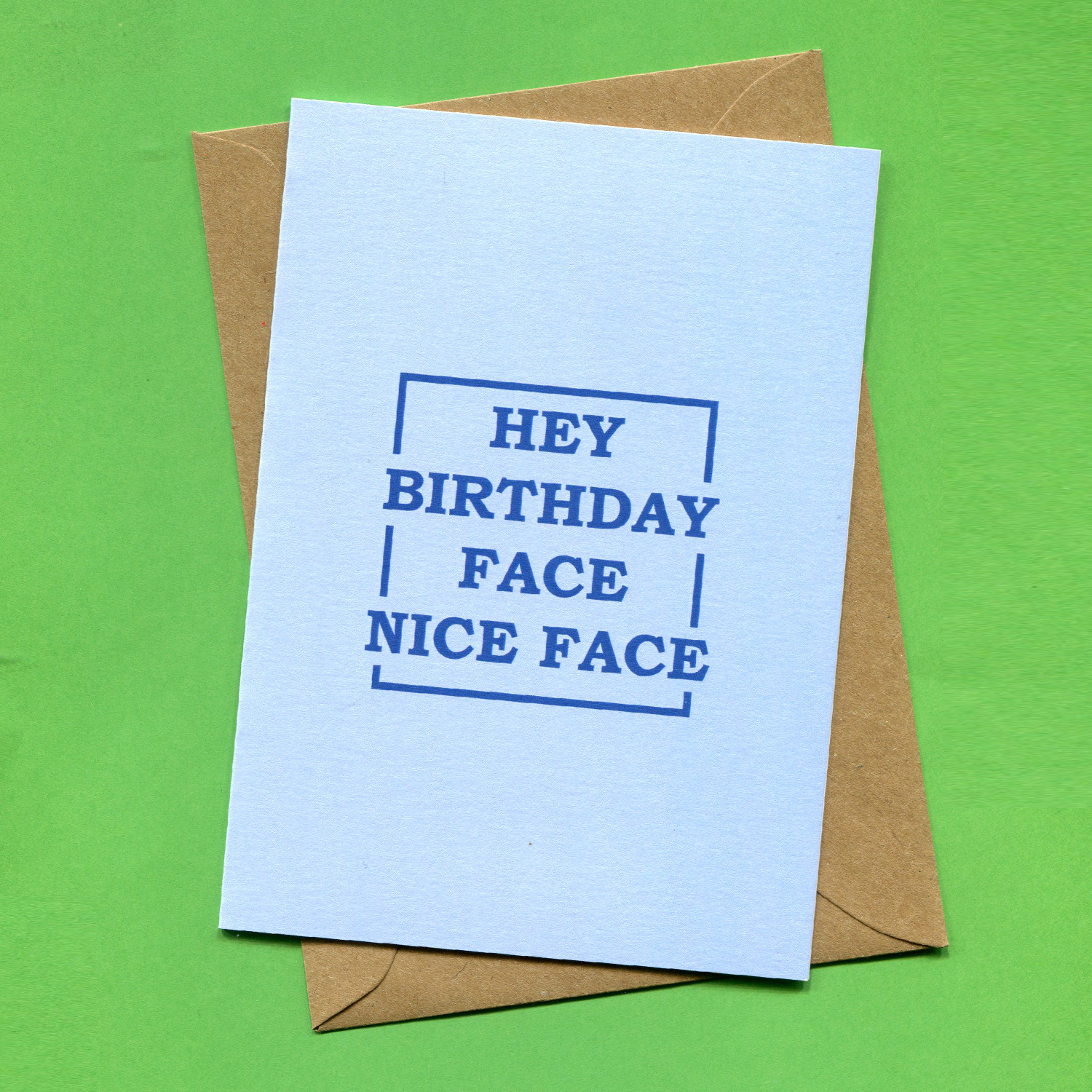 Catalogue_Things by Bean Hey Birthday Face Nice Face Greeting Card New.jpg