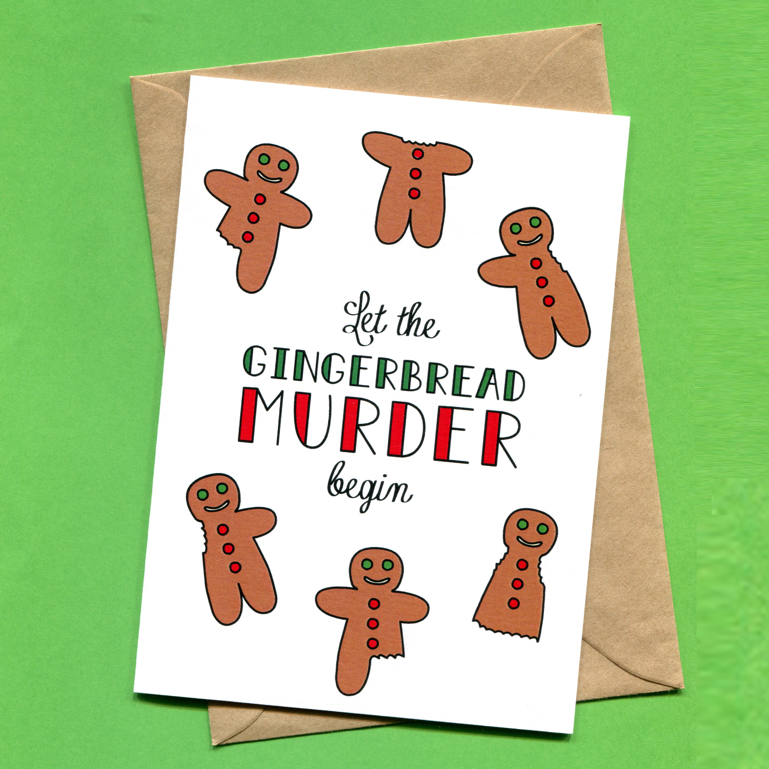 Catalogue_Things by Bean Let the Gingerbread Murder Begin Christmas Card.jpg