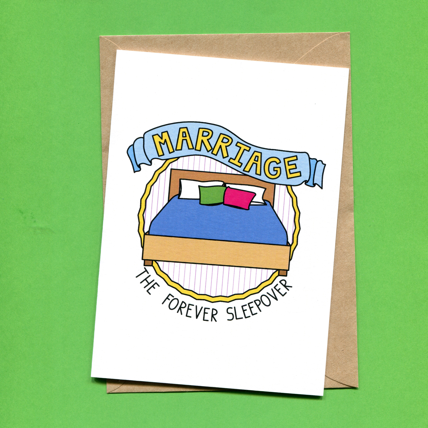 Catalogue_Things by Bean Marriage The Forever Sleepover Wedding Card.jpg