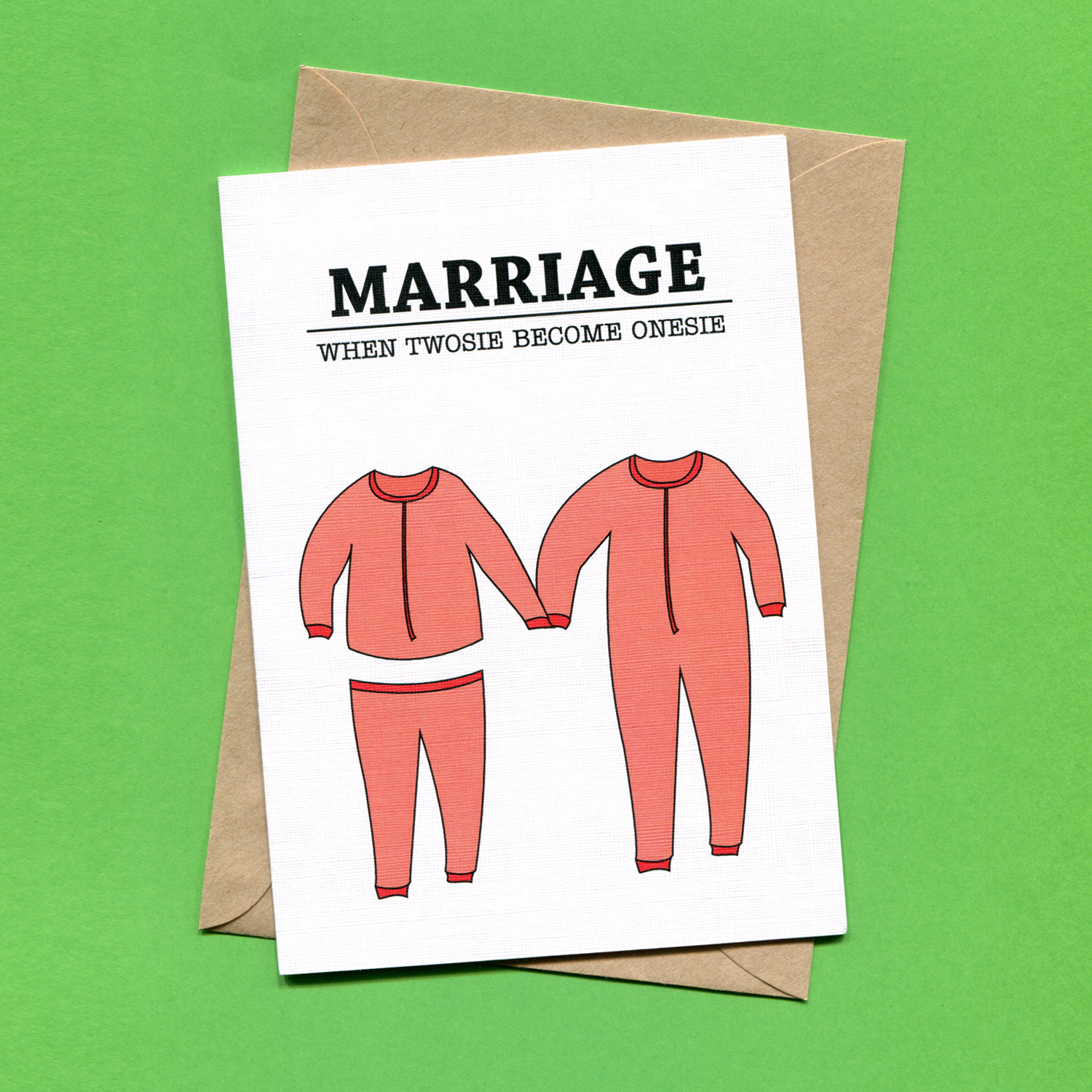 Catalogue_Things by Bean Marriage When Twosie Become Onesie Greeting Card.jpg