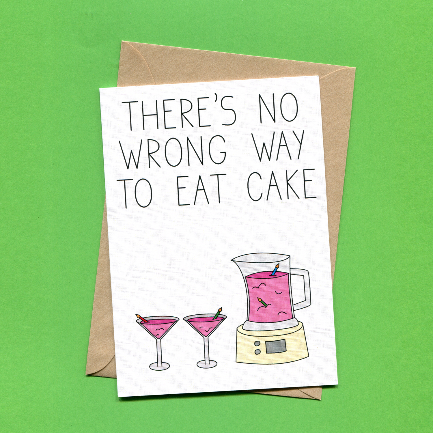 Catalogue_Things by Bean There's No Wrong Way to Eat Cake Greeting Card.jpg