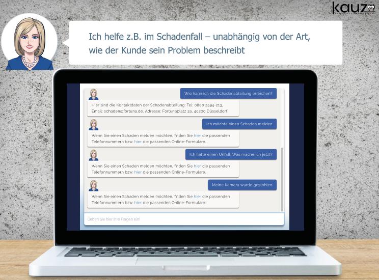 'Conversational Insurance' mit Kauz: Kunden können per Chat mit ihrer Versicherung kommunizieren, ihre Daten ändern und einfache Versicherungen abschließen
