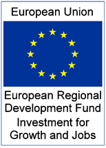 This project has been part-financed by the European Regional Development Fund (ERDF) under the EU Investment for Growth and Jobs Programme 2014 - 2020