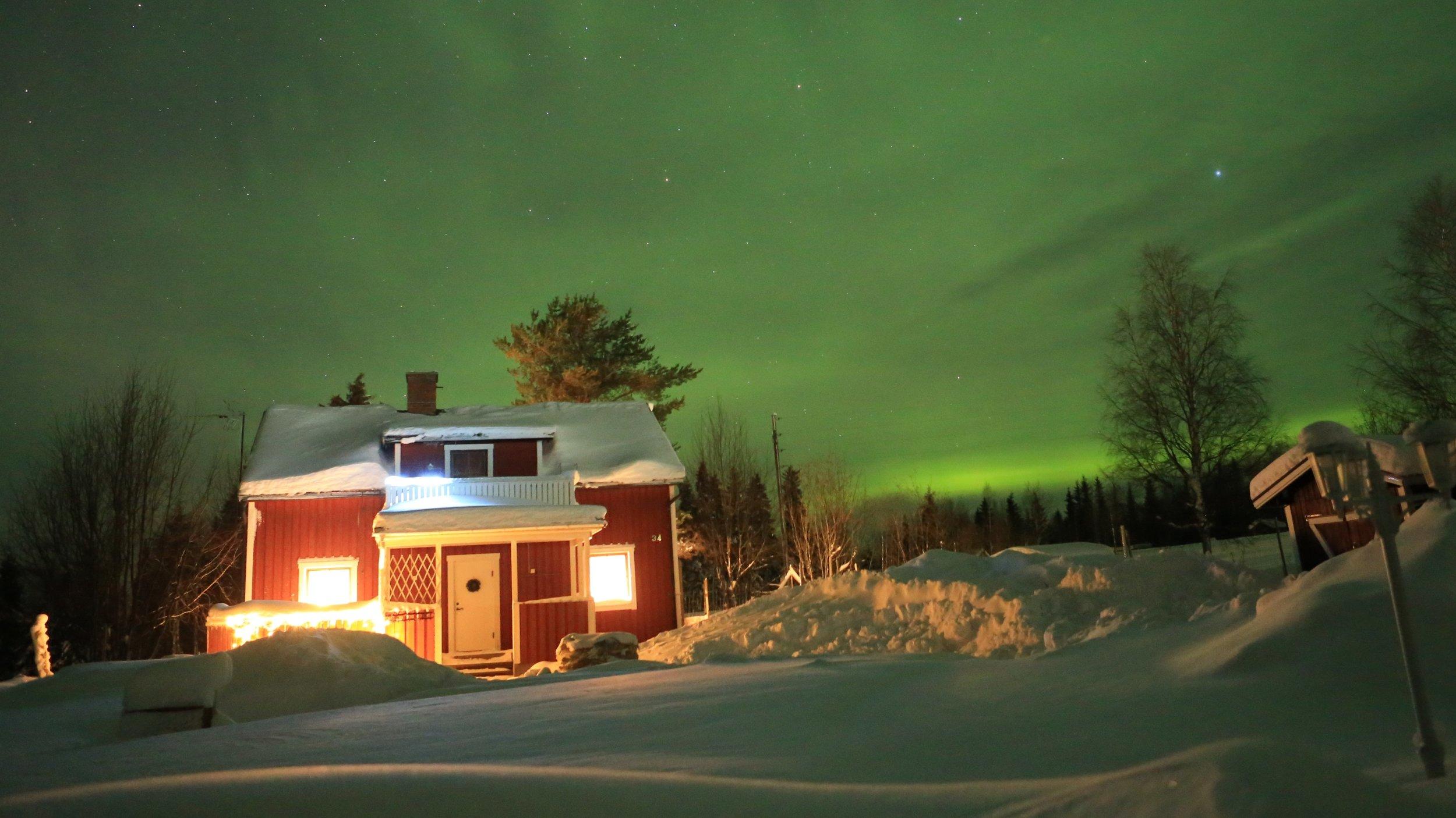 SAM Arctic rooms Övertorneå