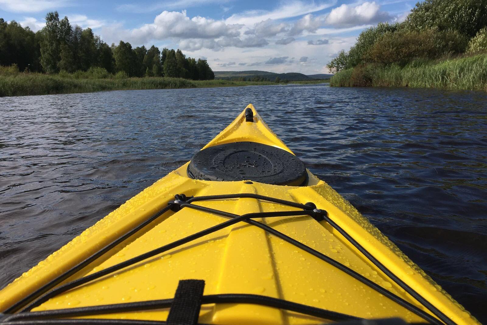 Canoe rental Norrsken Lodge Övertorneå
