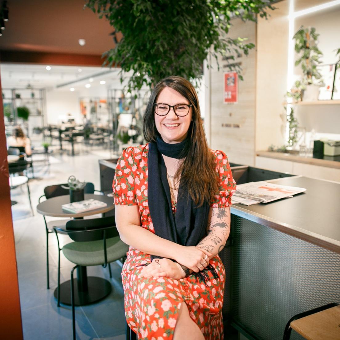 Meet x+why member Sarah Corbett