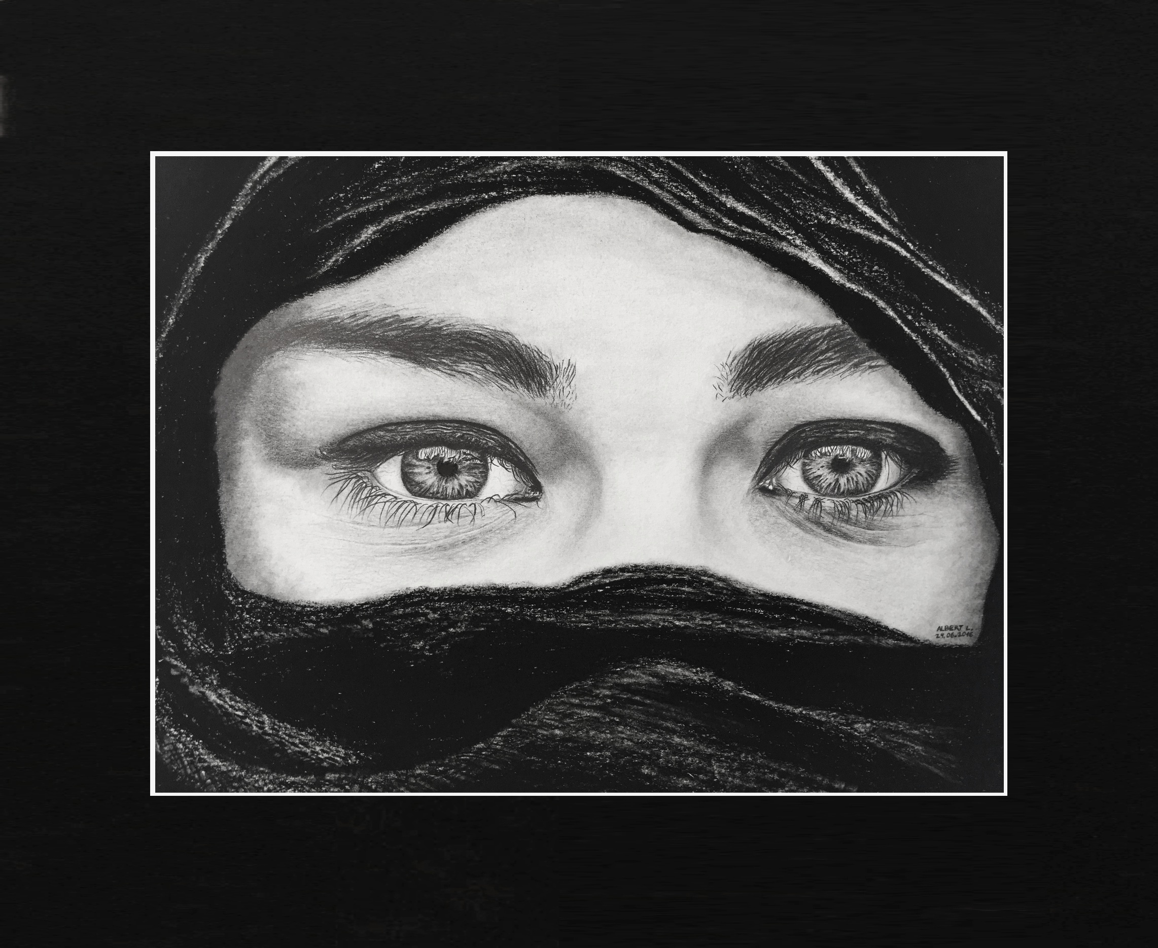 Mujer con velo - 24/06/2016