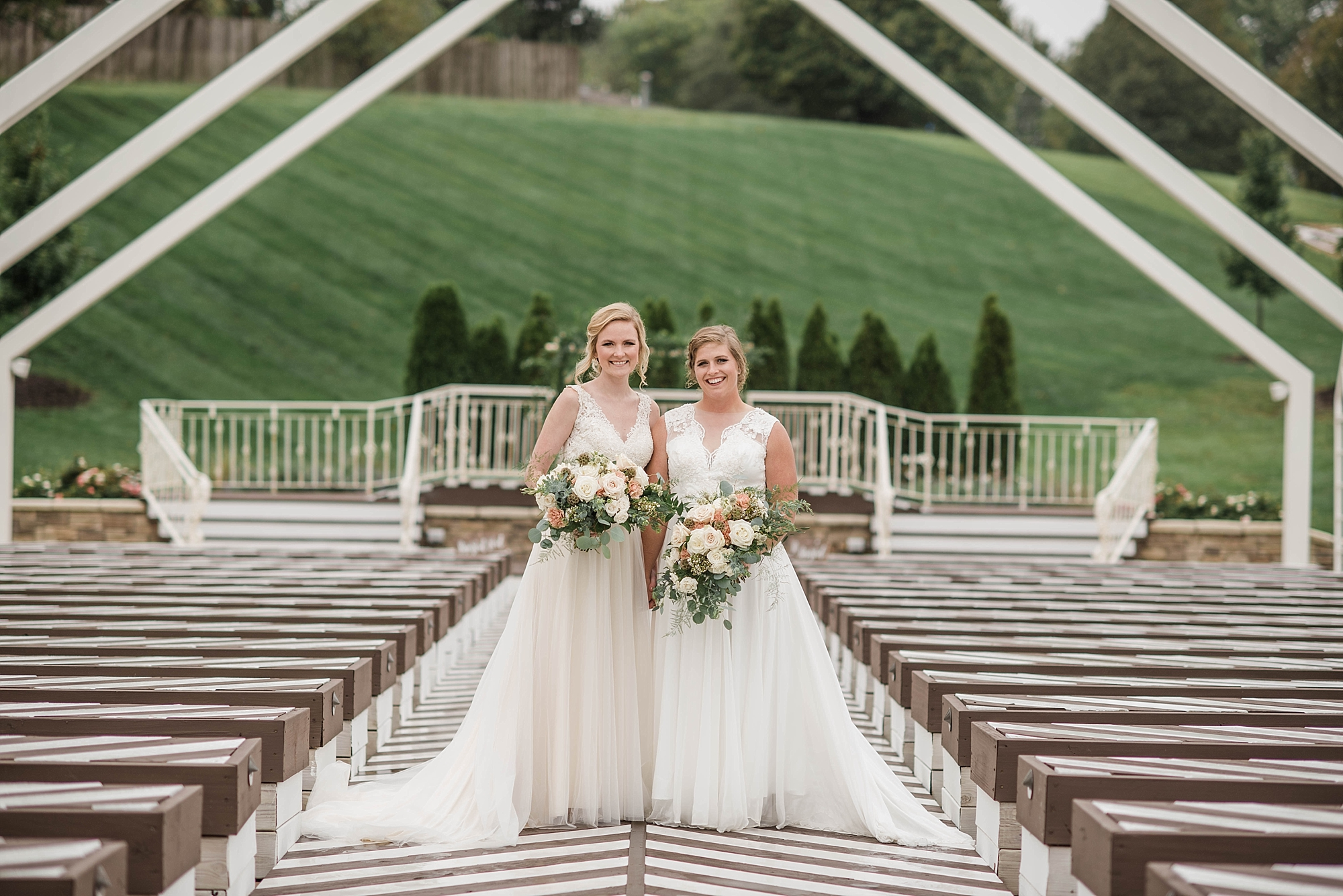 LGBTQ Wedding Photographer Kansas City - Pavilion Event Space - Kansas City Wedding Photographer