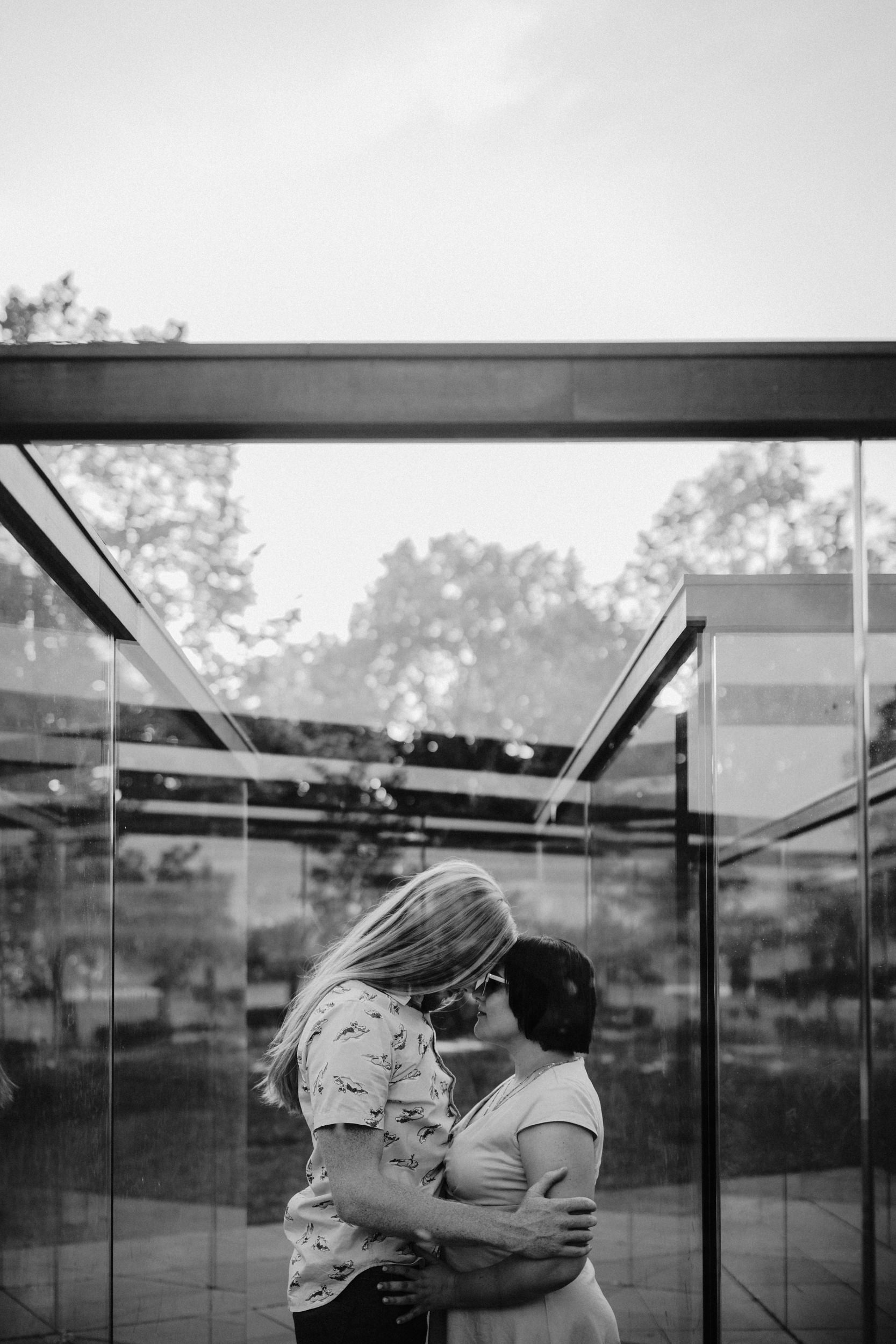 Rooftop Anniversary Session - Kansas City Wedding Photographer