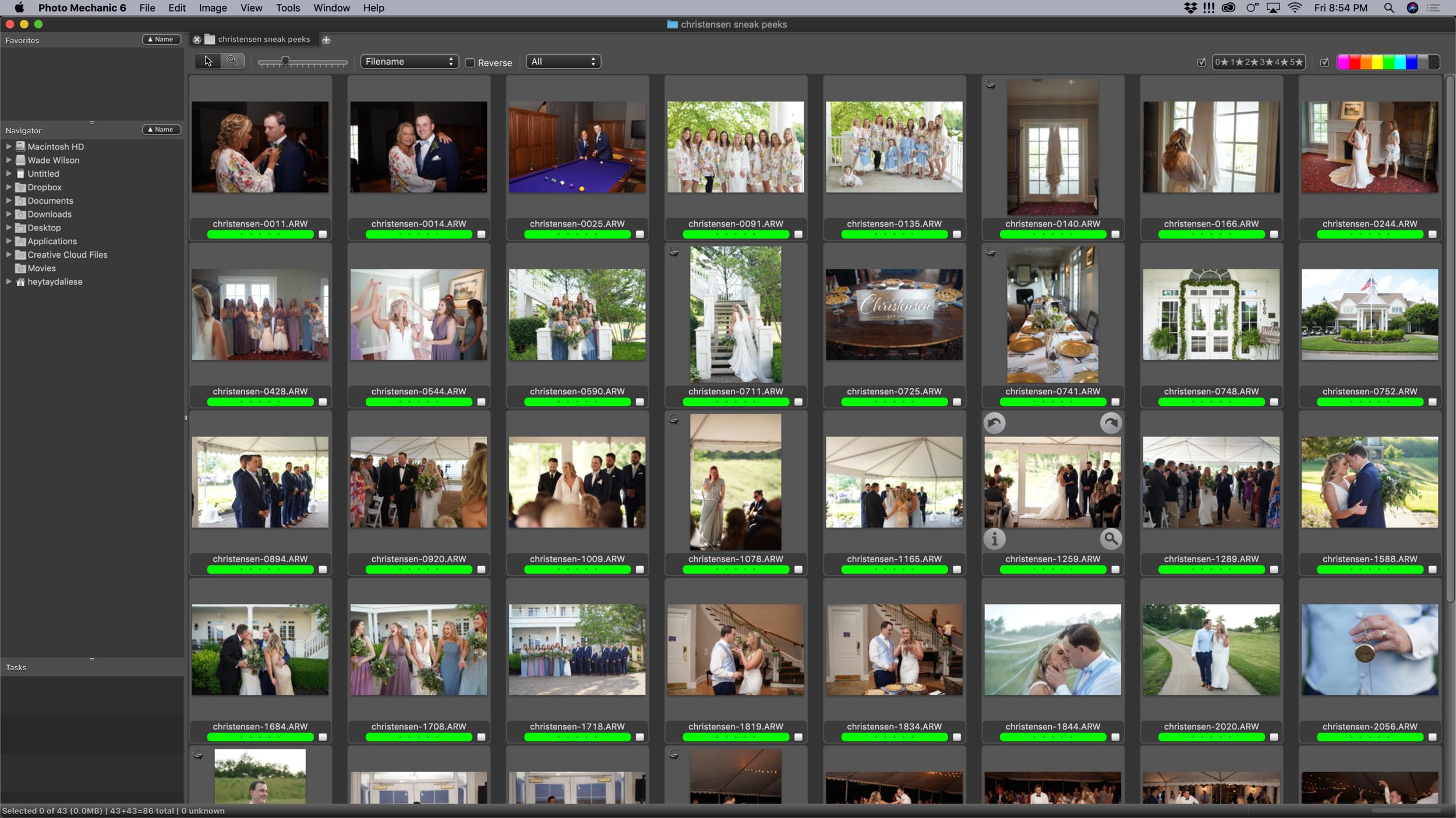 Photo Mechanic - 10 Tools for Wedding Photographers