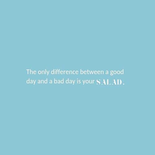 🥗How social is your salad?👇 ⠀ X🥗,⠀ ⠀ Megan+Sydney