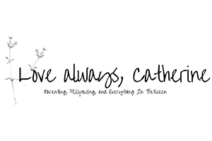 Love Always, Catherine Blog Logo and Link