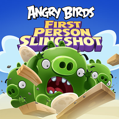 Angry Birds: First Person Slingshot
