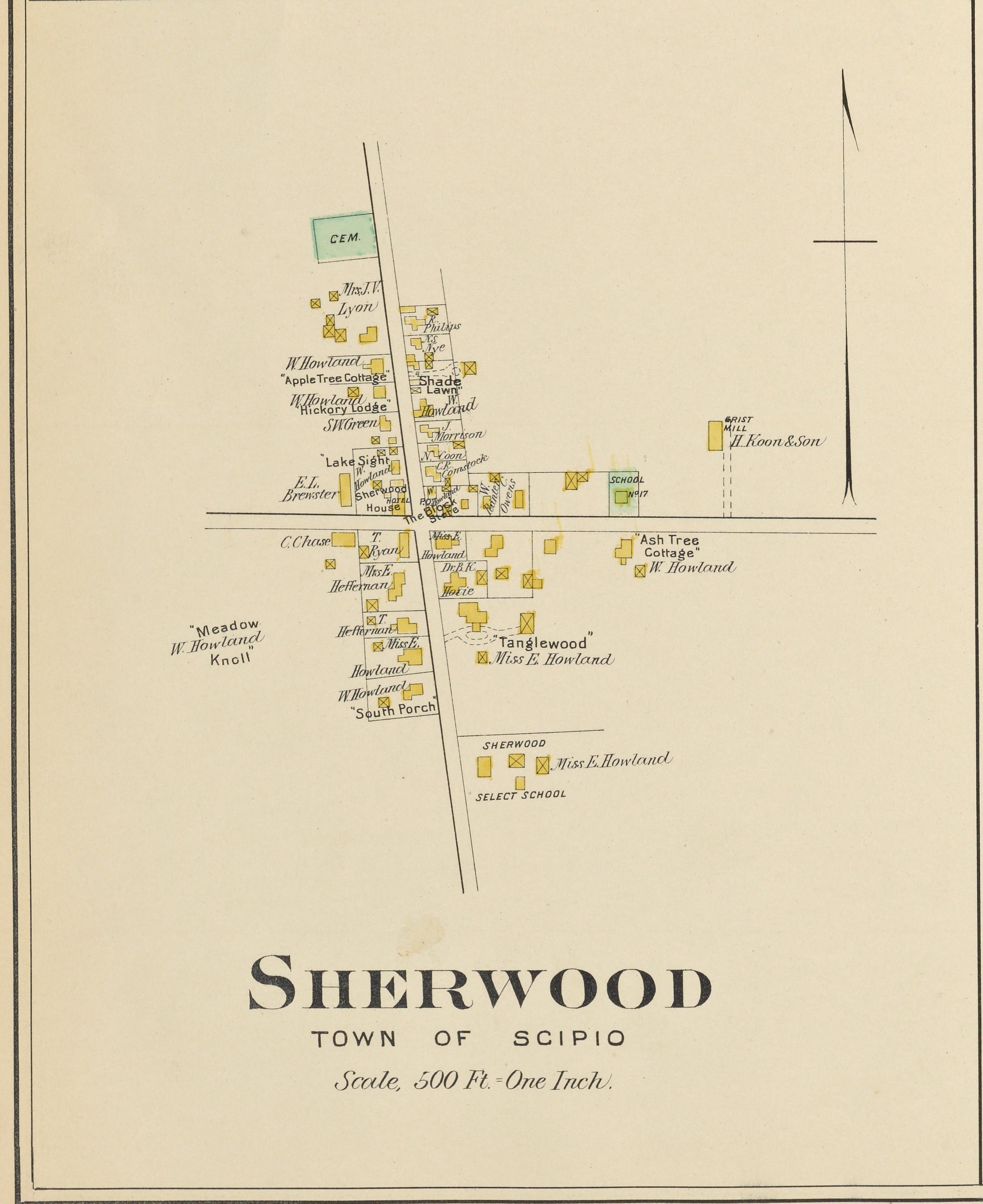 Sherwood Map (click to enlarge)