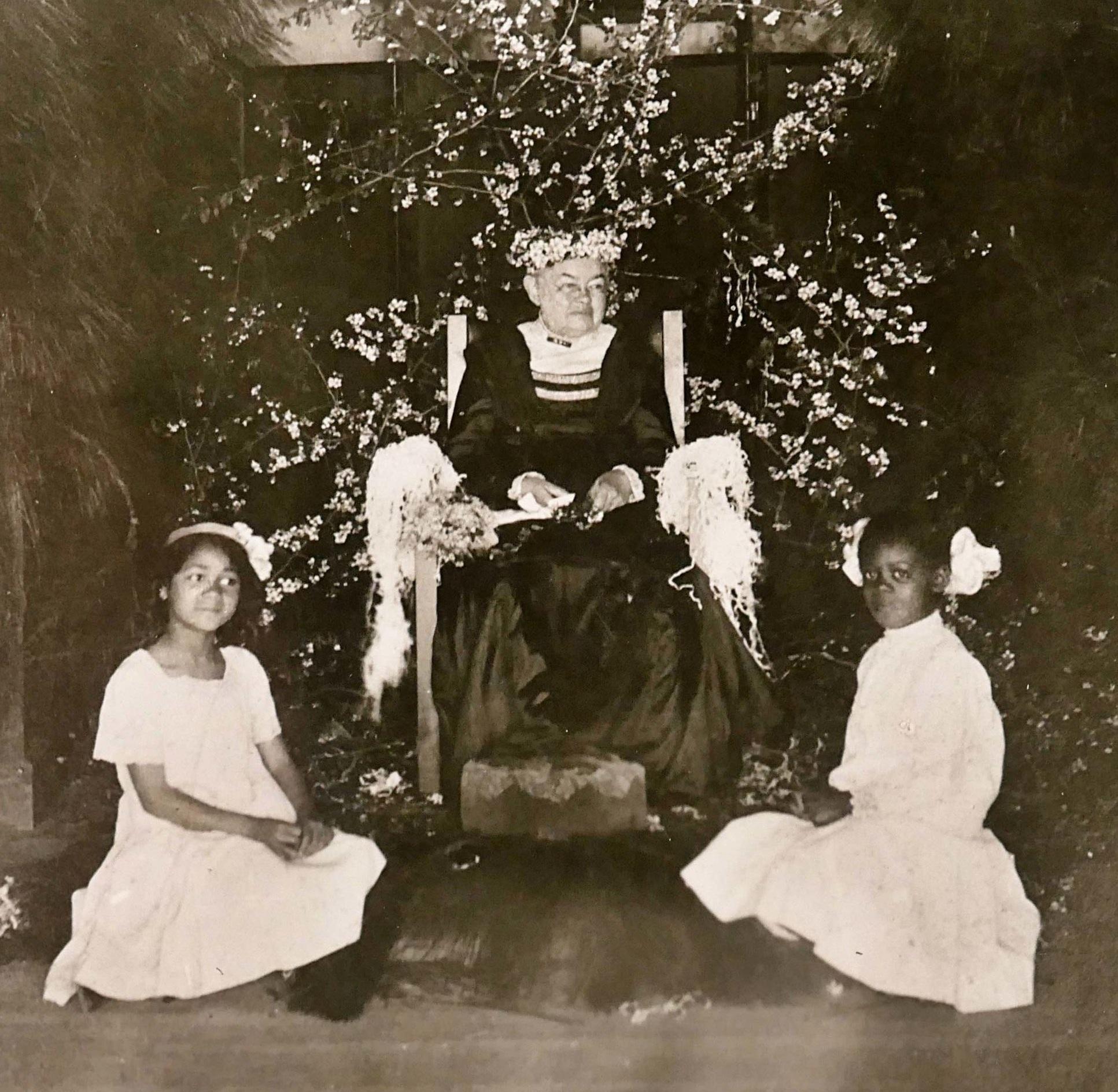 Emily Howland on Tour 1913