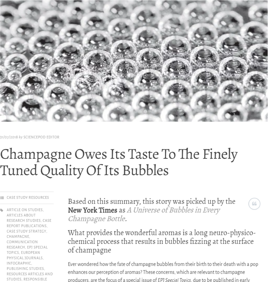 Source: https://epjst.epj.org/epjst-news/1166-epjst-highlight-champagne-owes-its-taste-to-the-finely-tuned-quality-of-its-bubbles