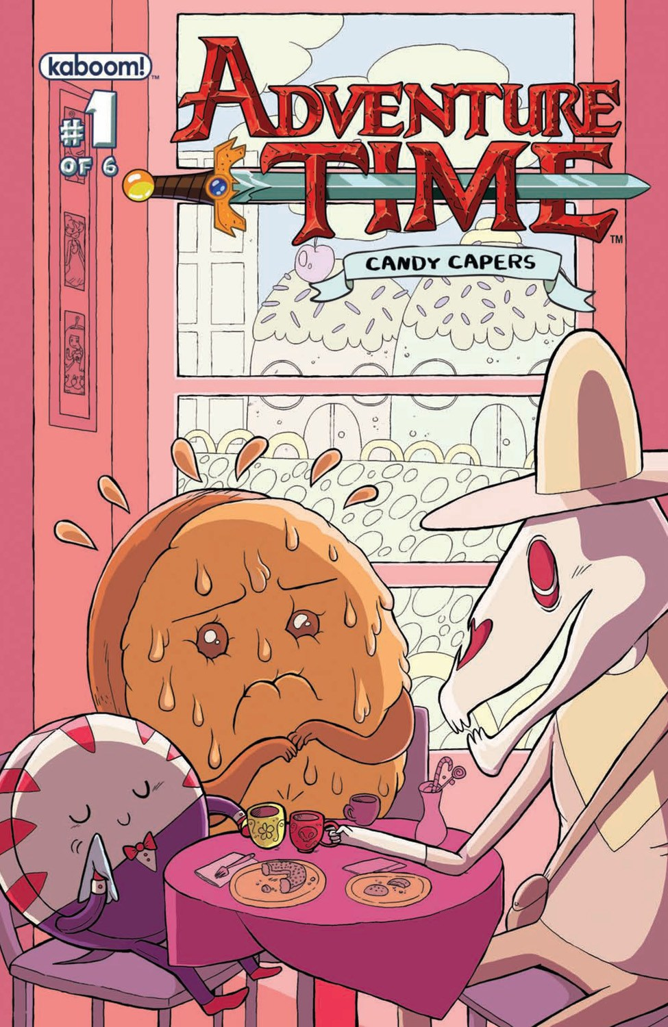 Cover for Adventure Time: Candy Capers published by Boom