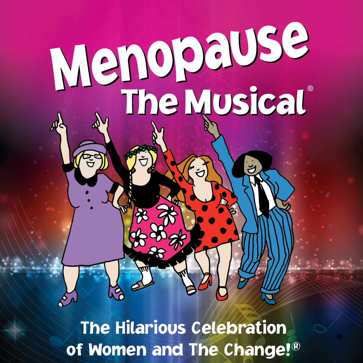 ShaggyPup Productions are the exclusive producers of Menopause The Musical® in Canada. - Four women at a lingerie sale have nothing in common but a black lace bra AND memory loss, hot flashes, night sweats, not enough sex, too much sex and more! This hilarious musical parody set to classic tunes from the '60s, '70s and '80s will have you cheering and dancing in the aisles! See what millions of women worldwide have been laughing about for over 18 years!COME JOIN OUR SISTERHOOD!