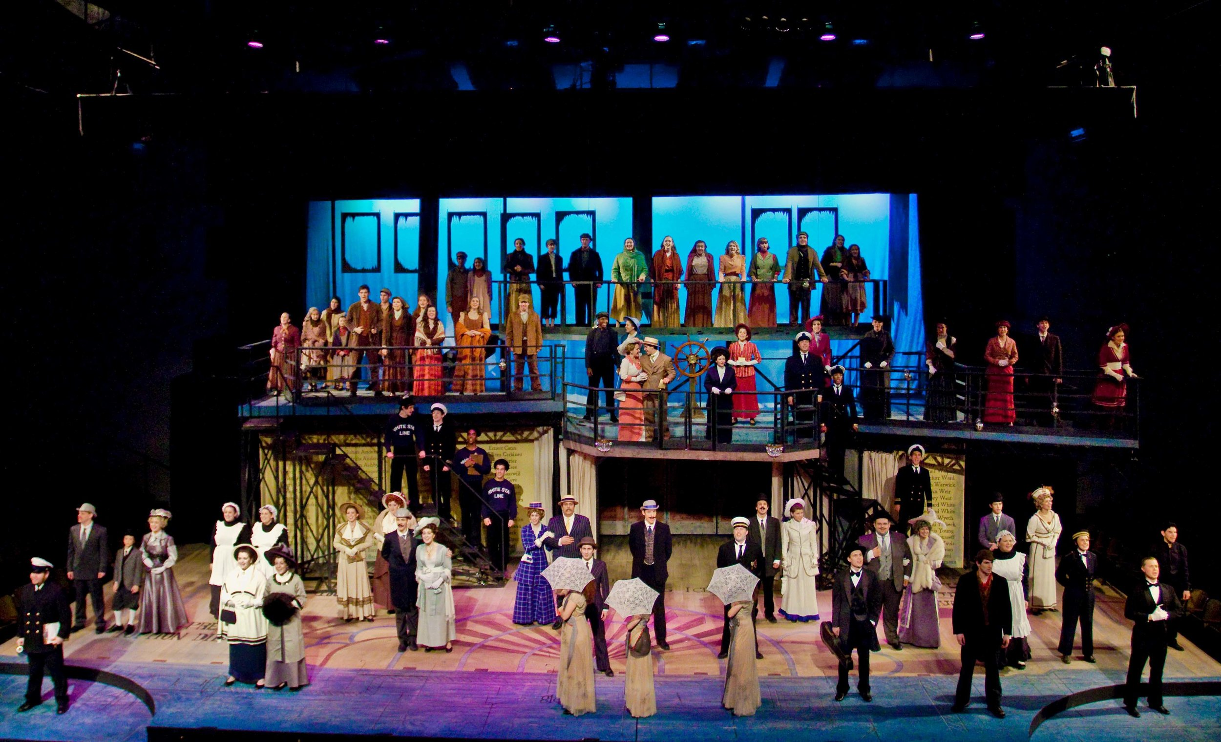 Titanic;  Upper Darby Performing Arts Center. Photo: Cate Paxson.
