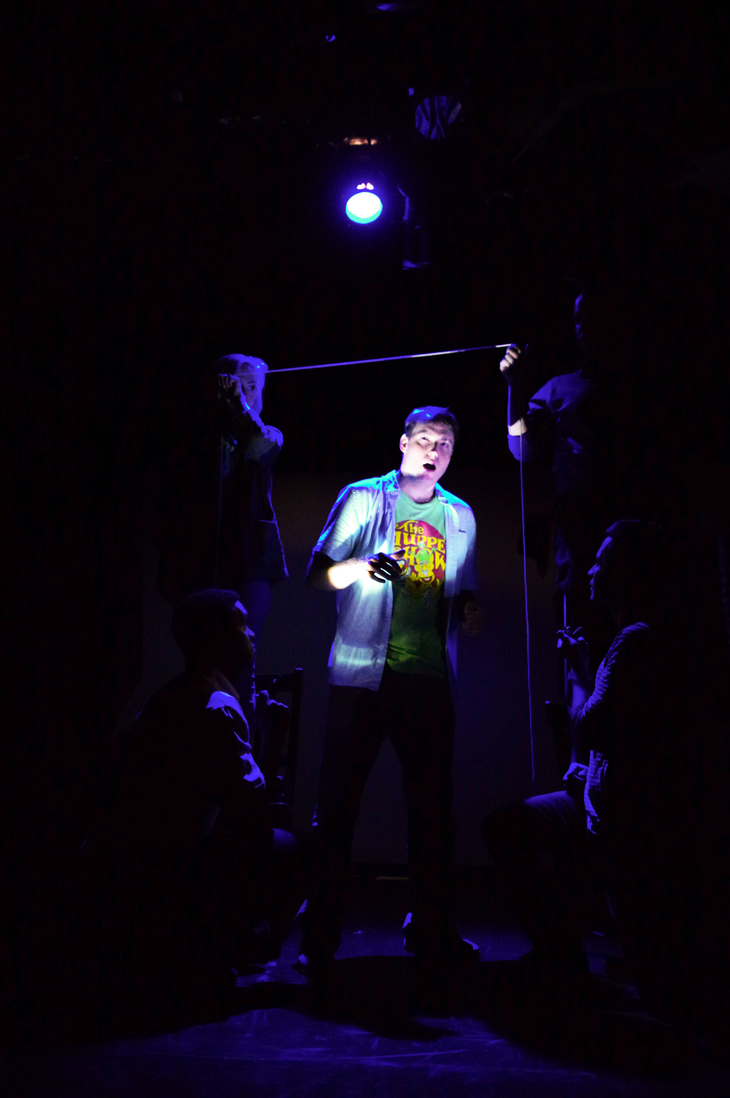 Dave Droxler in  Walken on Sunshine;  New York Fringe Festival. Photo: Tim Try