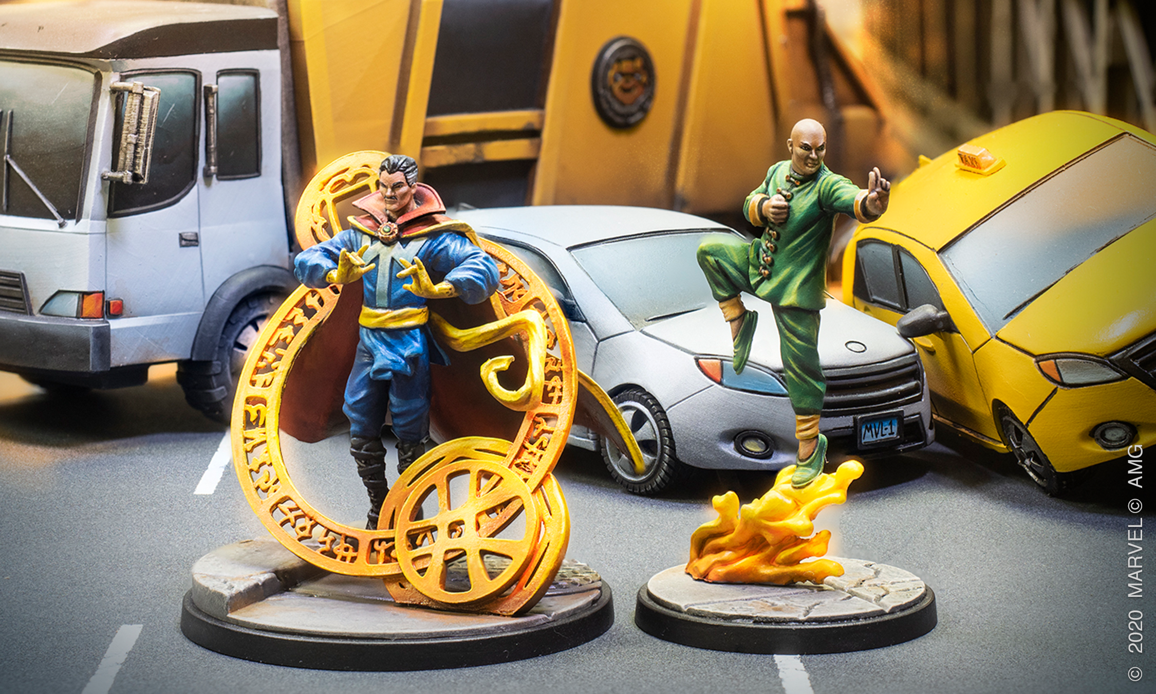 From Panel to Play: Doctor Strange and Wong — Atomic Mass Games