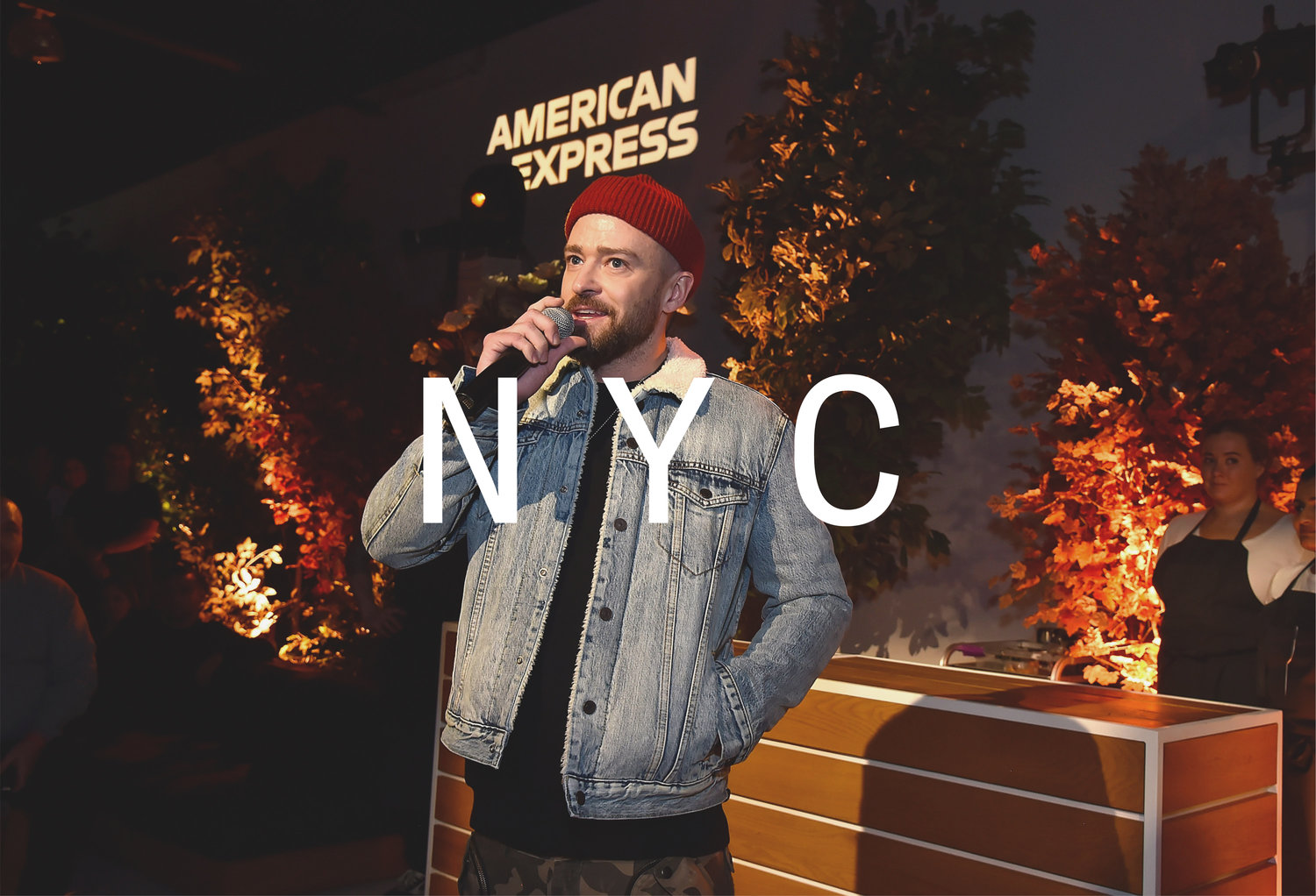 timberlake hosting the new york event