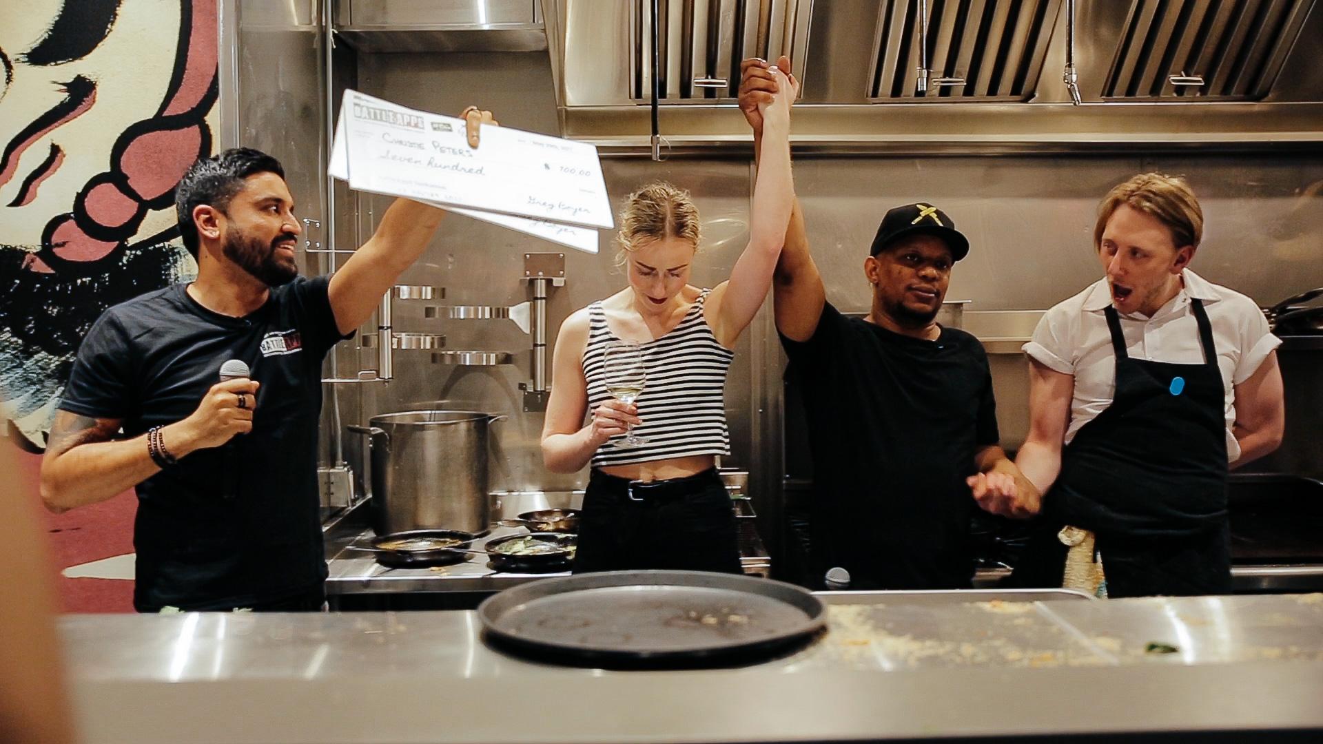 The Chef Collective Chef Battle in Saskatoon, Saskatchewan. Photo by  Josh Tenn-Yuk .