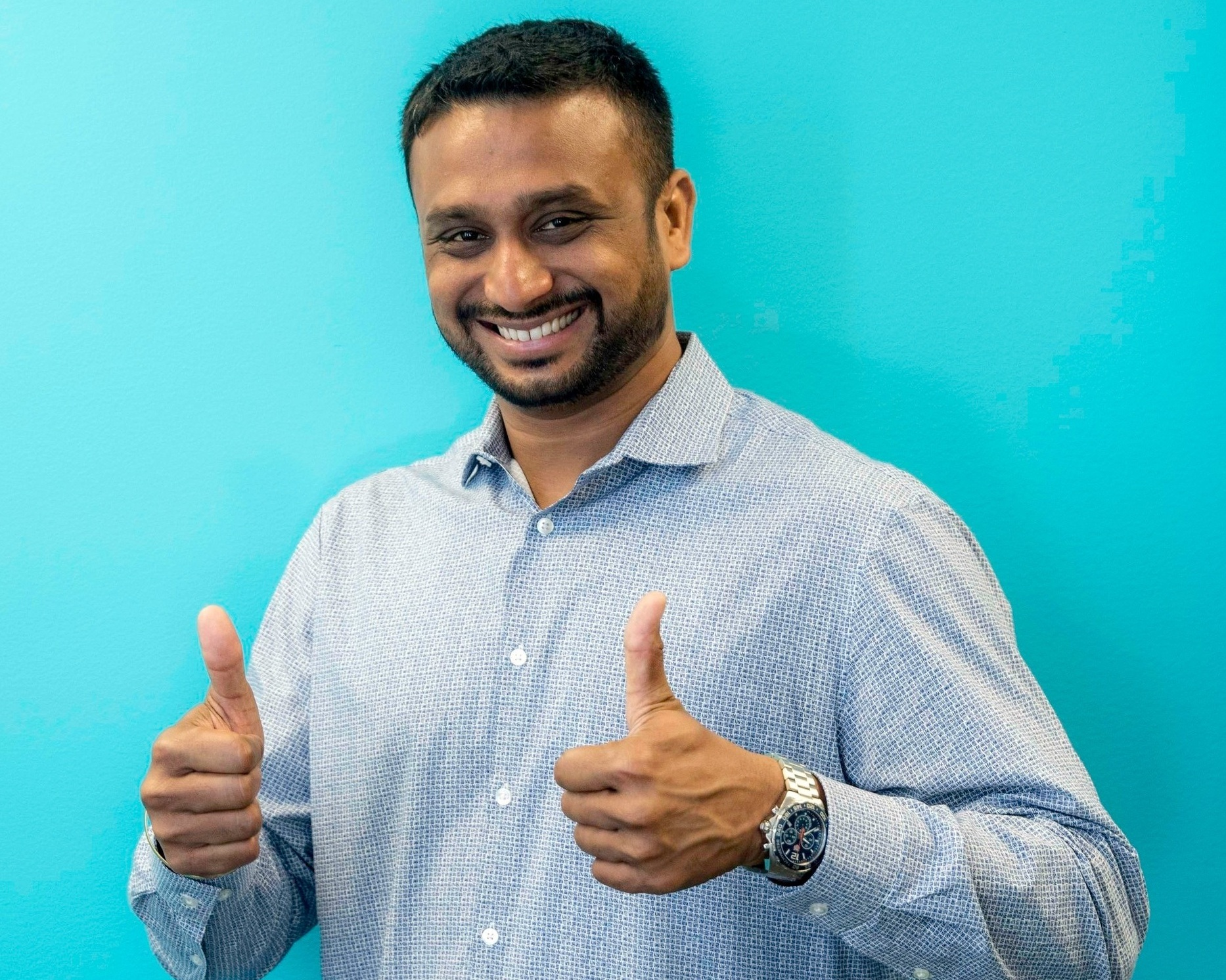 Prem - Prem is a storyteller (no not a liar). He tells stories through the use of performance data. The stories he weaves for our clients have a knack of getting them promoted, and we just LLLOVE when that happens. He's just a thumbs up kind of guy!