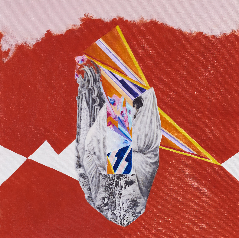 Kala  2019 Acrylic, mixed medium on canvas 45x45 cm