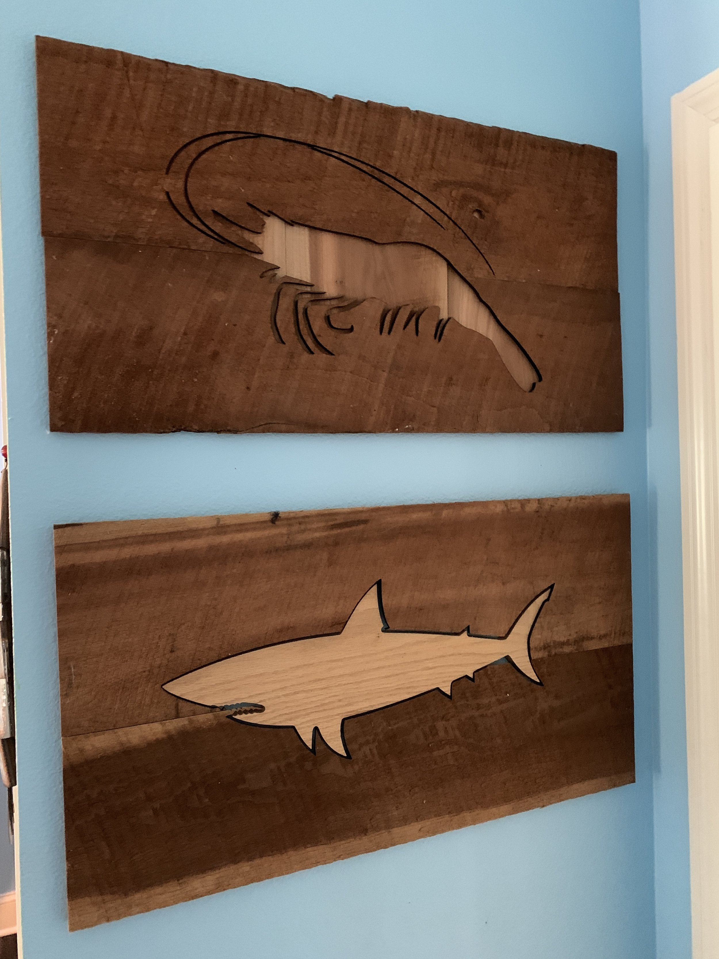 Rustic Fish Wall Art ($35-75)