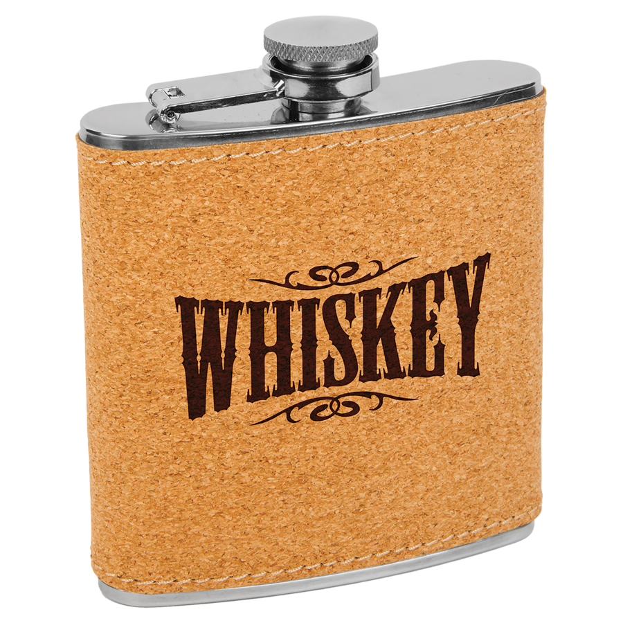 Cork Covered Flasks ($25-35 ea.)