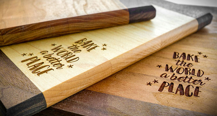 Hardwood Cutting Boards ($40+)
