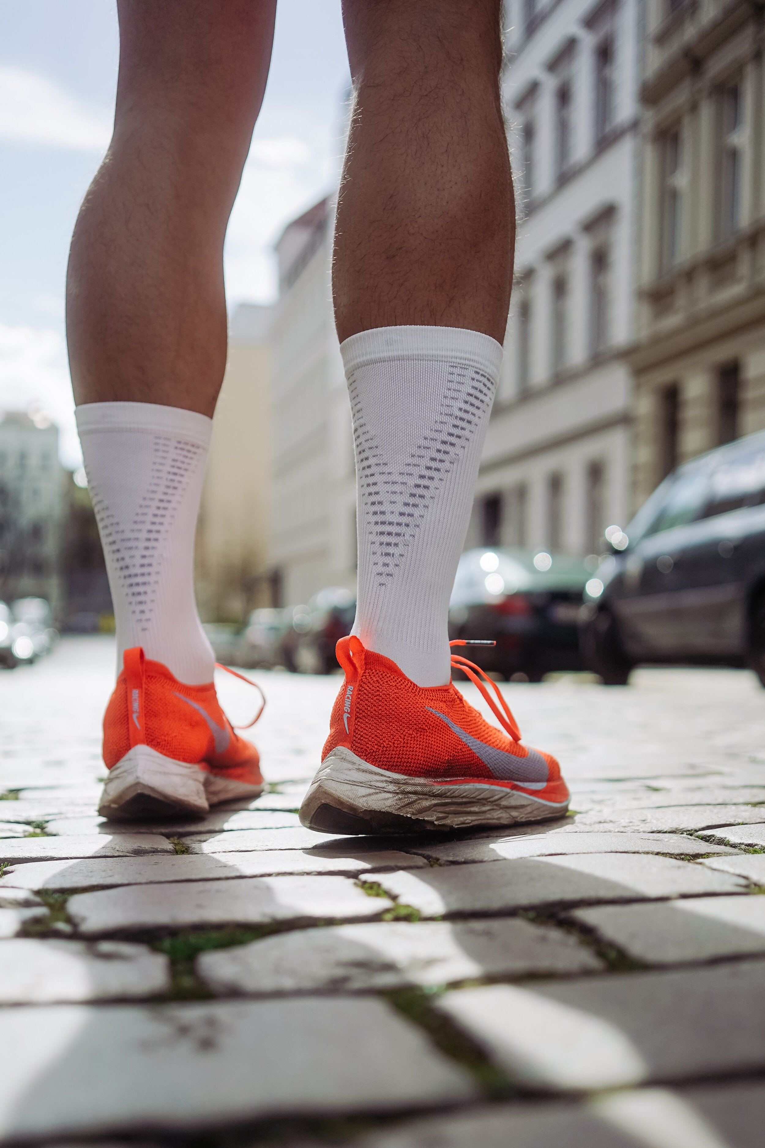 Looking to get faster? Compression socks and shoes have been looked to for that performance gain