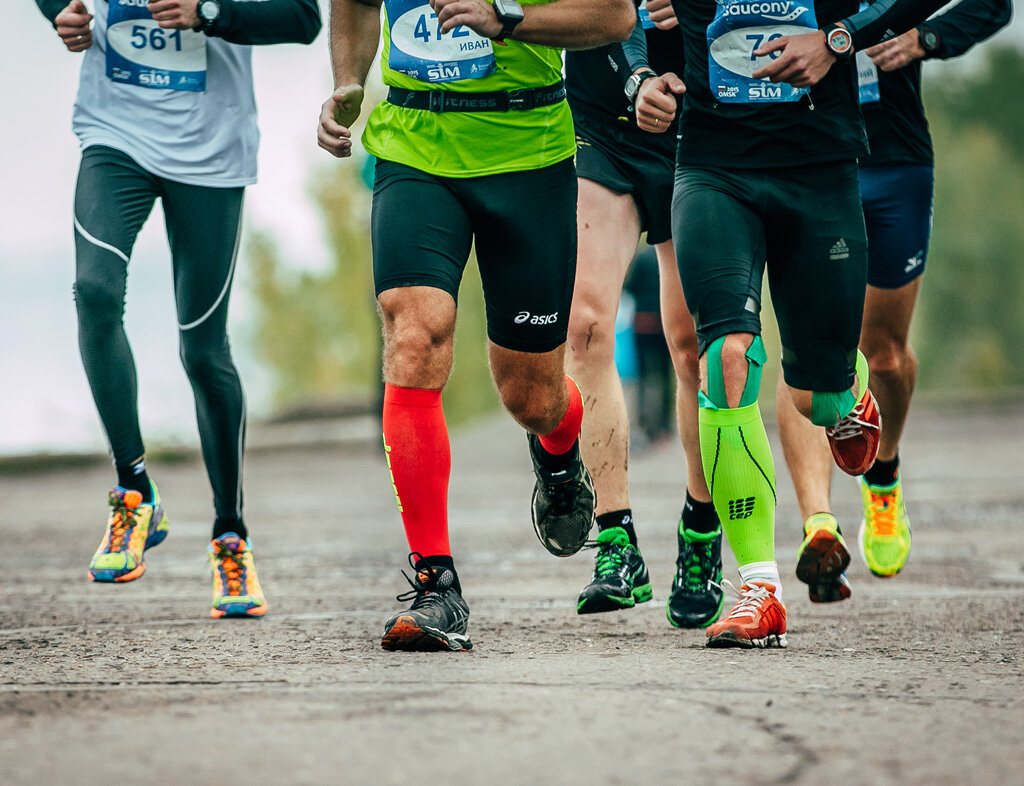 Compression socks might help you run fast and recover better- but the science is still out there