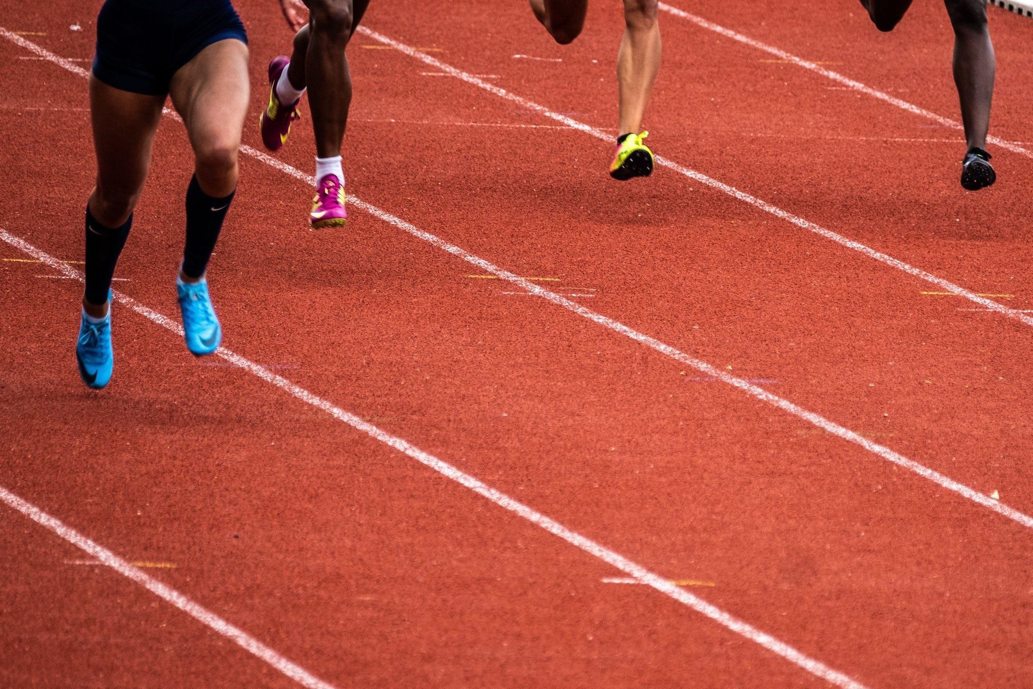 Running faster means a higher running cadence