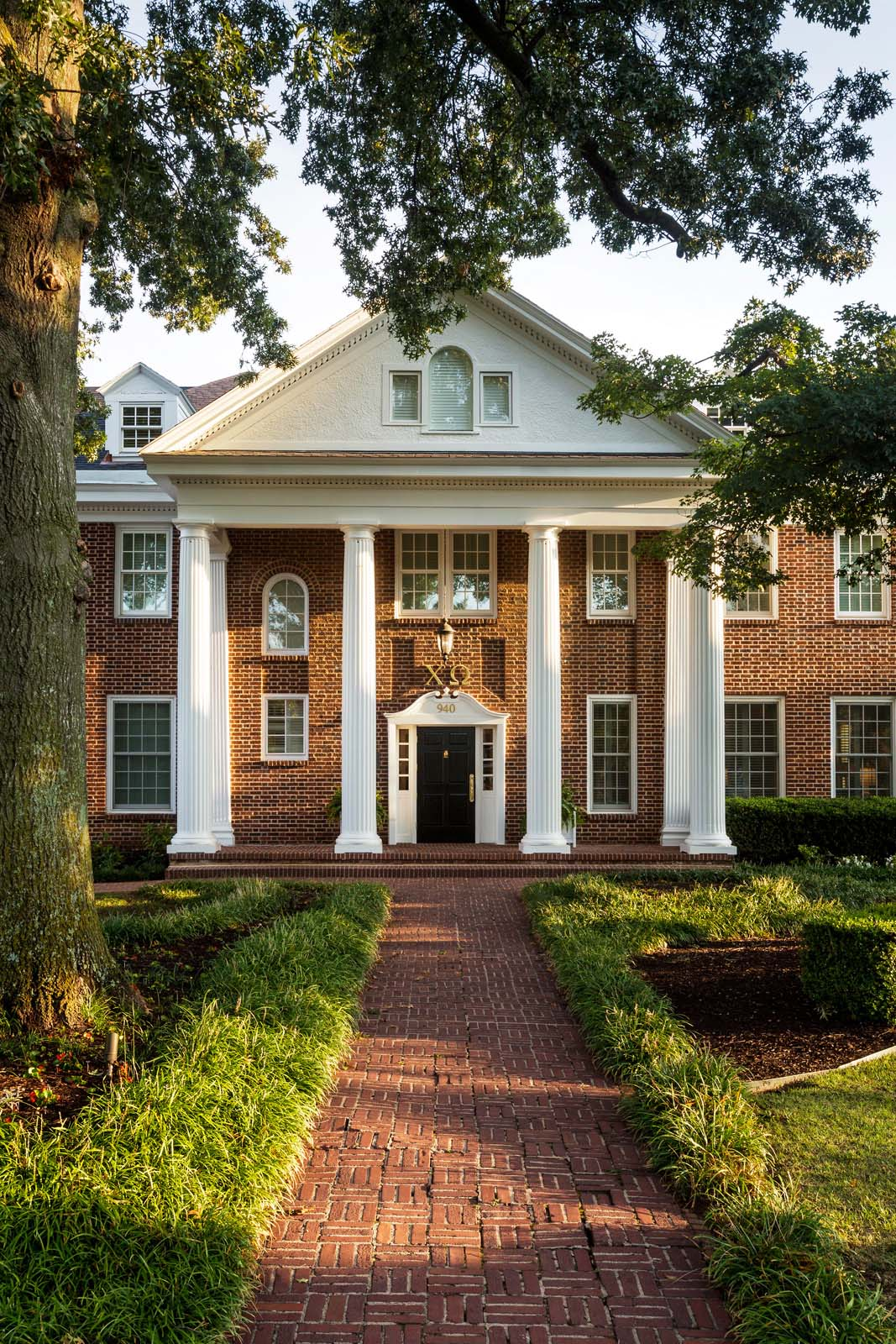 Chi Omega Sorority House  University of Arkansas  View Project →