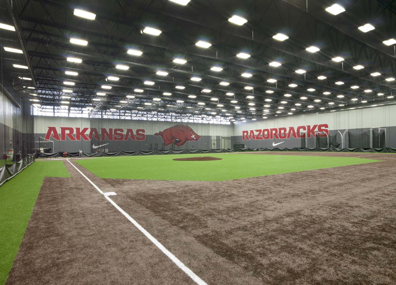 Fowler Family Baseball & Track Training Center  University of Arkansas  View Project →