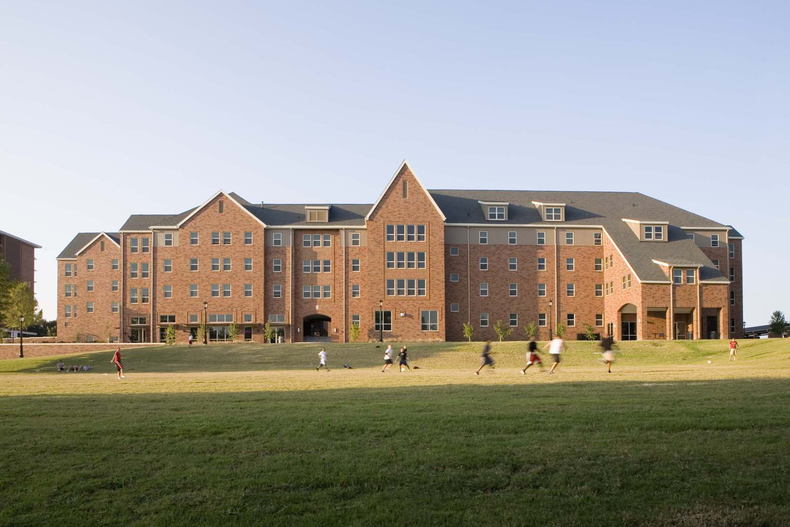 Maple Hill Residence Hall  University of Arkansas  View Project →