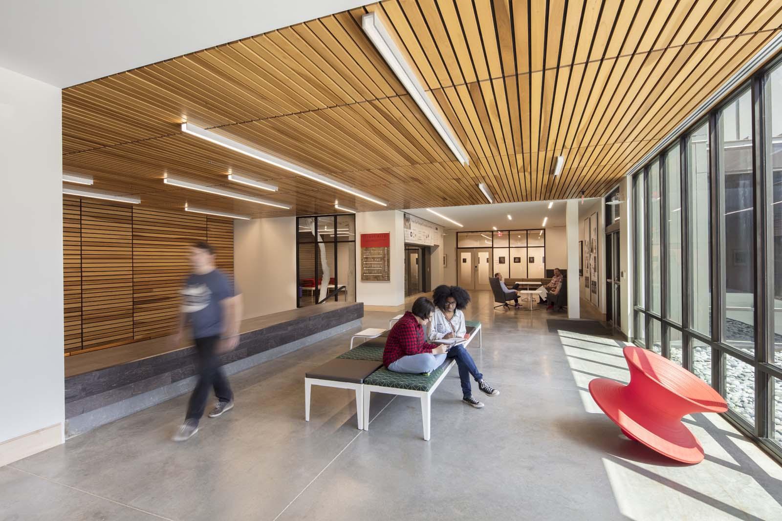 Windgate Center of Art + Design  UA Little Rock  VIEW PROJECT →
