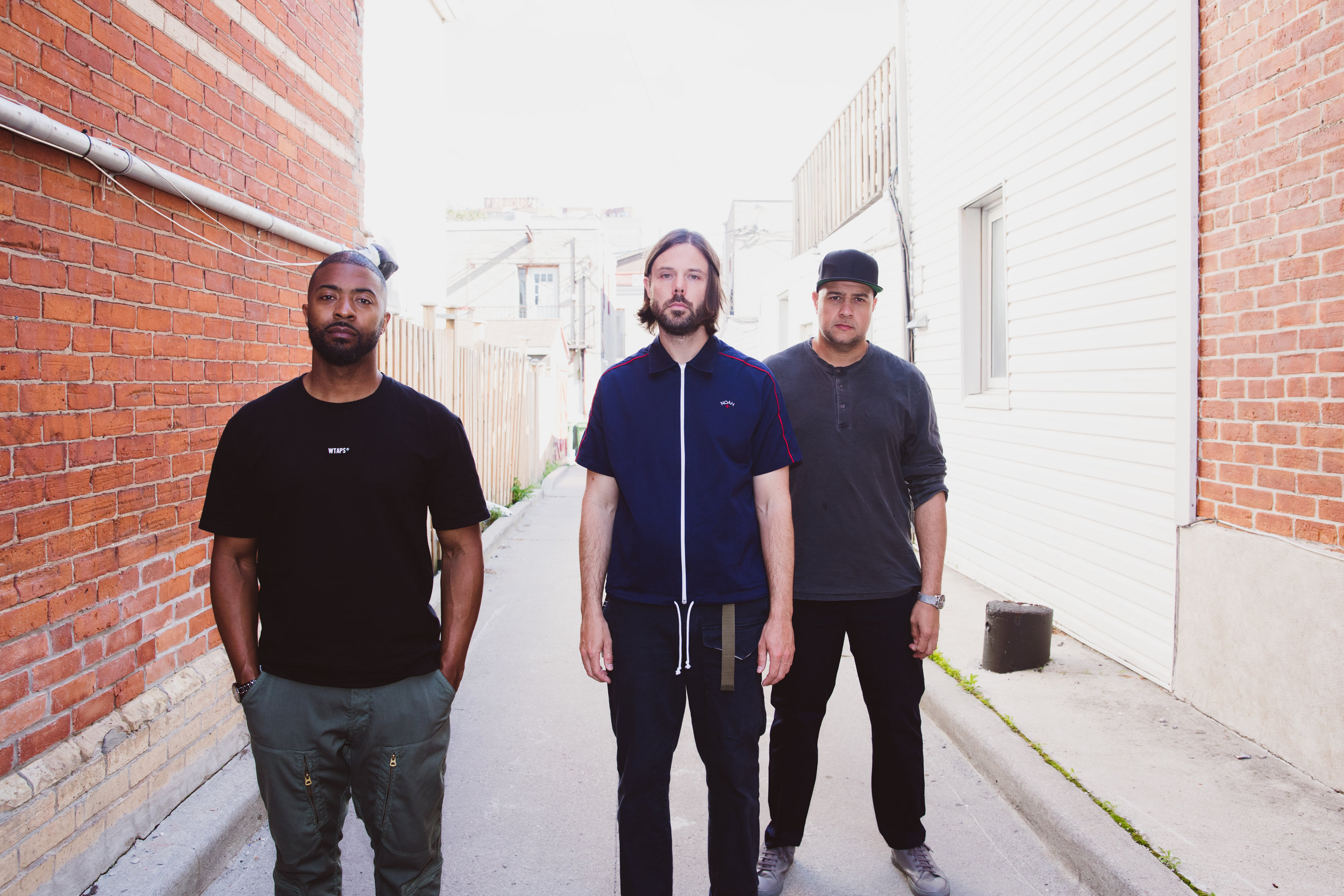 Pictured above from L to R KEYS N KRATES David Matisse, Jr. Flo., Adam Tune. Photo credit: Rhyan Correia