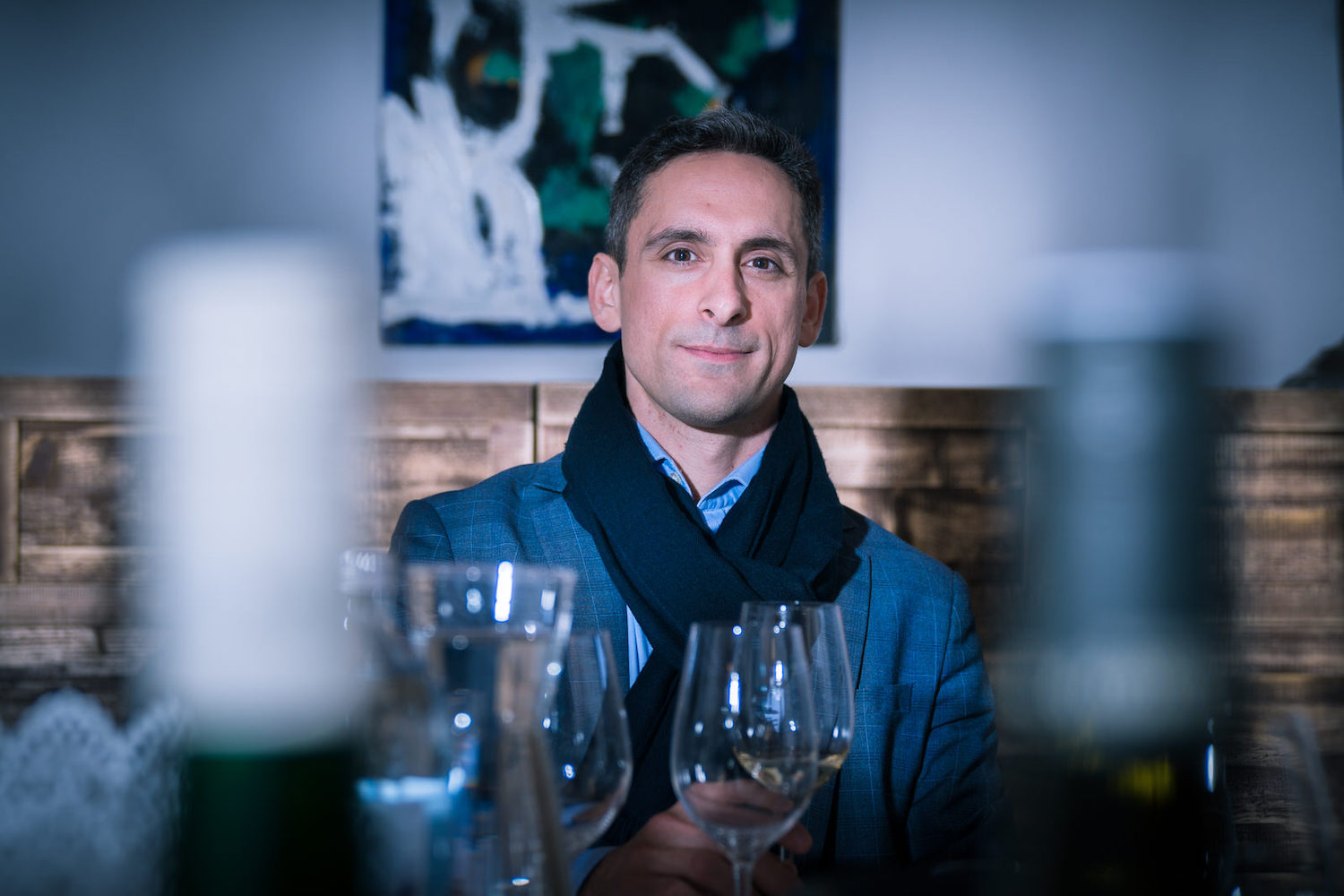 HELLO THERE!I'M STYLIANOS. - Your host for an exclusive wine cellar experience.