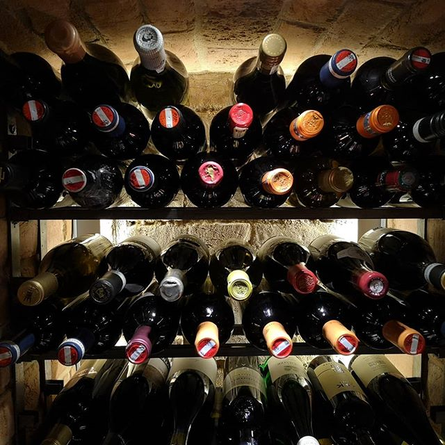 When finding space for your next bottle becomes a challenge. #wine #austrianwine #winecellar