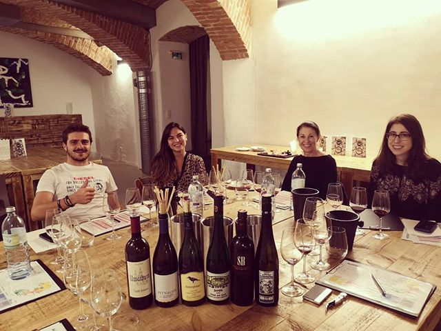 An other amazing tasting with guests from the US, Italy and Turkey!!