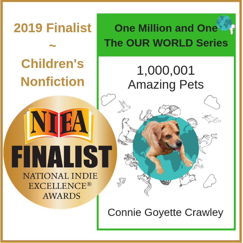 One Million and One Amazing Pets  is a finalist in the national Indie Excellence Awards for children's nonfiction!