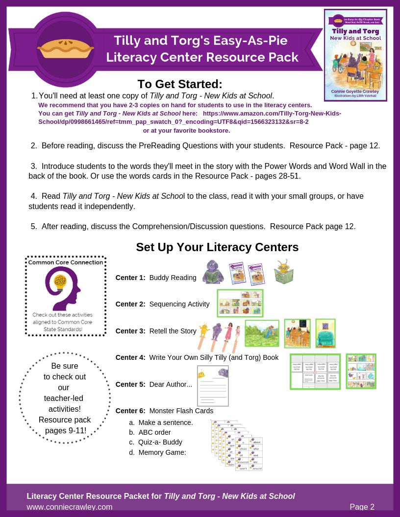 New Kids At School - Literacy center screenshot v3.png