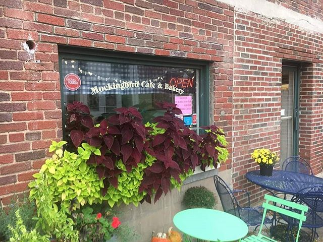 Here's a hidden gem beneath our noses in Christiansburg...lots of gluten free and vegan dessert options too!  Mockingbird Cafe & Bakery serves breakfast, lunch closes at 3pm.  Sandwiches, soups and baked goods.  Try them today....offer with card, lunch upgrade, cookie and drink! (value of $3.45!)