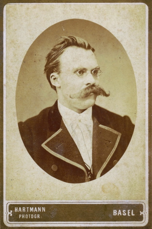 """Hiking with Nietzsche - On Becoming Who You AreJohn KaagStrauss, Farrar, Giroux""""God is dead."""" – Nietzsche, 1888""""Nietzsche is dead."""" – God, 1900Quotes on a T-shirt"""